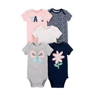 Carter's 5-Pack Short-Sleeve Original Bodysuits
