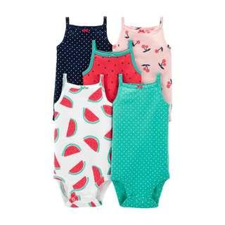 Carter's 5-Pack Tank Bodysuits