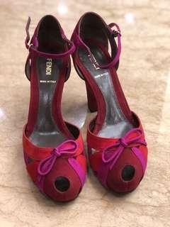 Fendi 魚口鞋