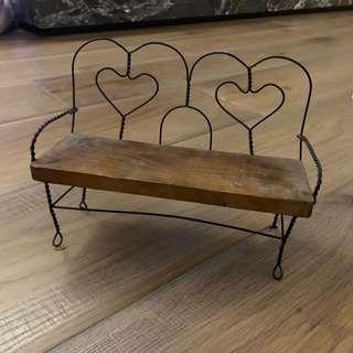 🚚 手工小椅子 送2個皇冠相框