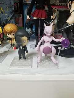 寵物小精靈 (日版) 精靈寶可夢 Pokemon go 神奇寶貝 極稀有 超夢夢 黏土人 99%新 附說明書 有盒 齊件 figure