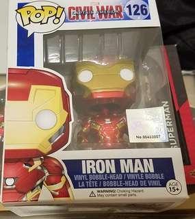 ironman hottoys 126