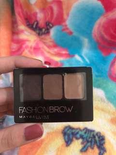 Maybelline Fashion Brow *dark brown* ( dipakai hanya 3x! )
