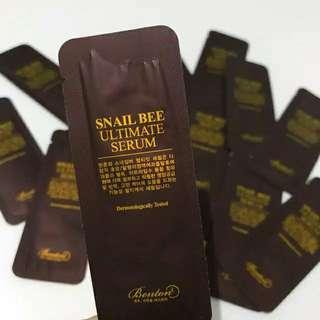 Benton Snail Ultimate Serum Sample Size