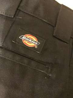 Dickies slim straight 黑色 34 x 32