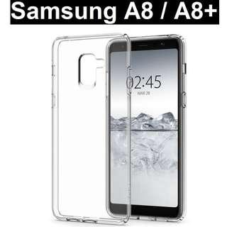 Samsung Galaxy A8 / A8+ 2018 Crystal Clear Case Casing Cover