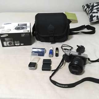 Samsung NX300M Black Digital Camera