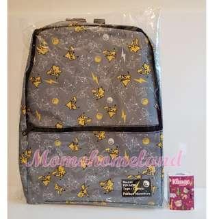 ♕40cm寵物小精靈-太陽‧月亮背囊/Pokemon Sun & Moon Premium Backpack♕