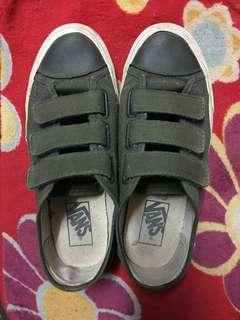 Vans Velcro Army Green