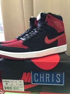 Nike Jordan 1 Flyknit BRED