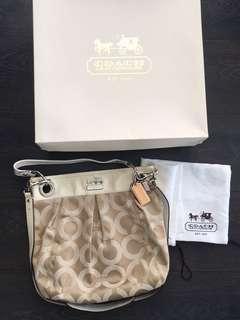 Authentic Coach bag - signature collection