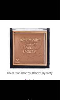 AUTHENTIC WET N WILD Color Icon Bronzer (Bronze Dynasty)