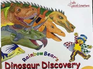 🚚 Julia Gabriel Rainbow Bear's Discovery with CD and songbook