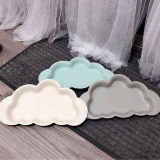 🚚 竹纖維雲朵餐盤 3色一起售