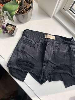 Black denim shorts PERFECT FOR SUMMER