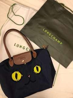 Longchamp 限量貓臉包🐱正品!法國製❤️S號