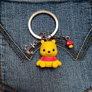 🚚 小熊維尼鑰匙圈 吊飾