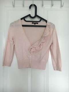 GAP Pink Cardigan