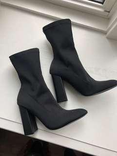 Brand new sock boots