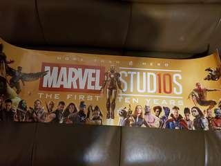 Marvel Studio 10週年紀念海報