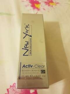 New York Skin Solutions Activ-clear Blemish Cream