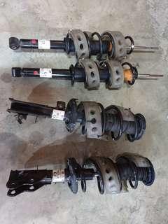 Honda shuttle stock suspension