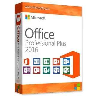 Microsoft office 2016 professional Plus 序號金鑰