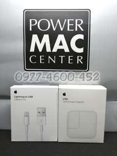 "Apple 12W + lightning cable set charger ""FAST CHARGE"" best seller!"