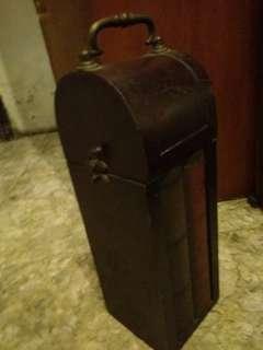 #payday maret Box kayu antik untuk botol minum