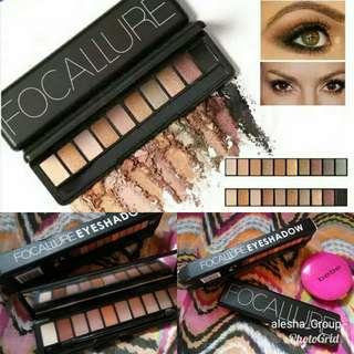 Foccalure eye shadow pallets
