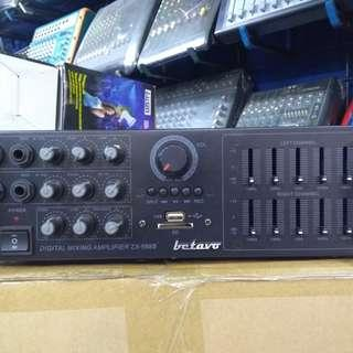 AMPLIFIER MIXER WITH USB. BETAVO ZX 988 B