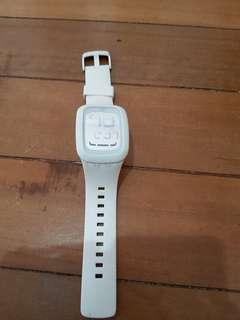 White Swatch watch