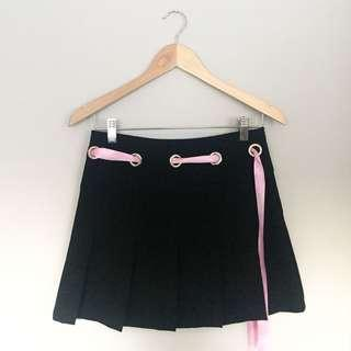 Babydoll Pleat Skirt