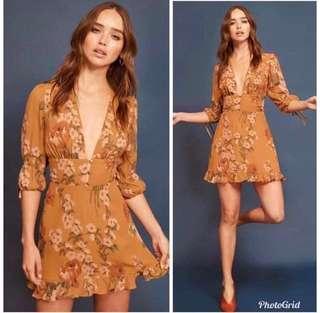 Floral Chiffon BkK dress