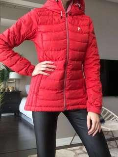 $500+ Goose Feather Puffer / Light Ski Jacket by Peak Performance size M
