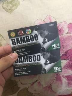 Bamboo concert