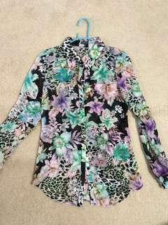 Sheike Button Shirt