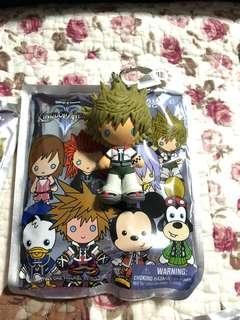🚚 Disney Kingdom Hearts 3D Figural Keychains