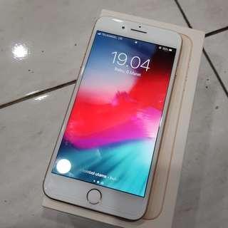 iPhone 8 Plus 256GB Rose Gold Fullset Mulus