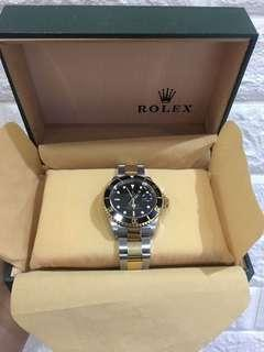 AUTHENTIC ROLEX SUBMARINER TWO TONE!