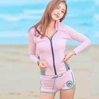 In Stock 💕Korean version of UV Rash Guard,  Swimsuit, Swimwear, Beach Wear, Sport wear, Bikini