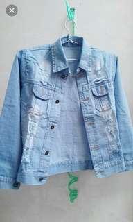 Jacket Jeans + Free T Shirt