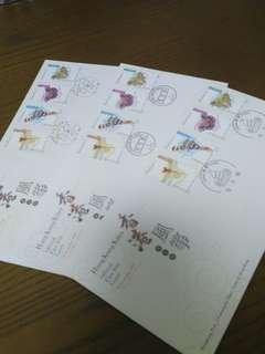 香港風筝首日封 1998年11月15日,每套15元