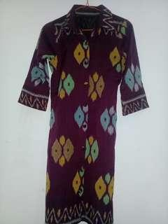 Dress Batik/Tunik motif