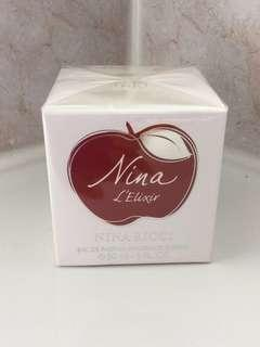 Nina Ricci L'elixir Eau De Parfum Spray for Women, 30 ml, 1.0 Fl Oz. Sealed in box.