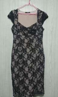 Blackpink lace dress