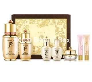 🚚 Whoo Bichup Jasaeng Self-Generating Anti-Aging 7pc Special Set 2019 New Edition
