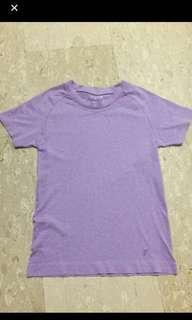 🚚 BN Energized Light Purple / Lavander M size sports top/ sports apparel