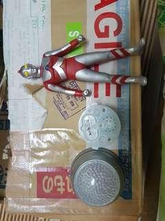 Ultraman 80 set color timer & 5.5 inch figure