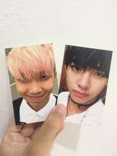 Official BTS Photocard